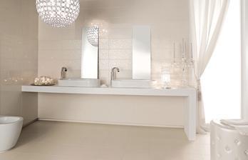 Nakonec vybrána do obou koupelen tato serie od Marazzi..