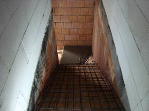 Příprava na schody - už jsou hotové, musím dofotit:)