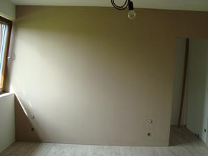 Ložnice vymalovaná:)