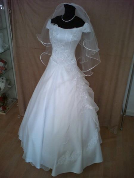 Svadobné prípravy - Tieto šaty som si vybrala