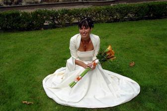 krásná novomanželka, že?
