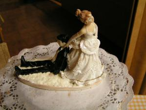 ozdoba na dortě - detail