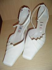 Moje botky - pohodlné, protože mají široký podpatek