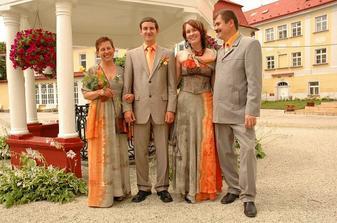 Erik s rodiči a ségrou Luckou
