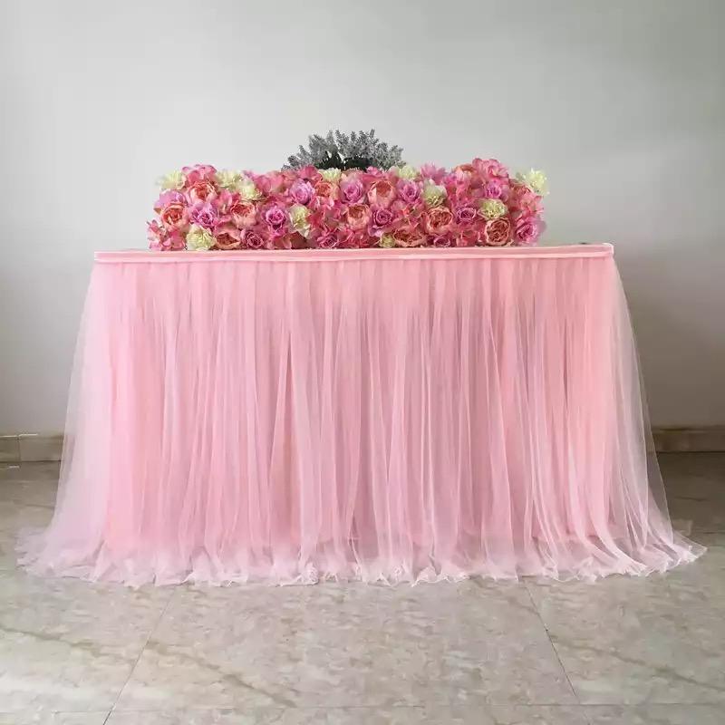 Príprava 🌸🌸🌸 - Suknička na stôl Candy baru
