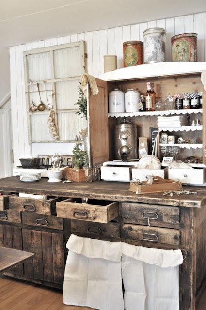 Drevo a biela v kuchyni - Obrázok č. 94