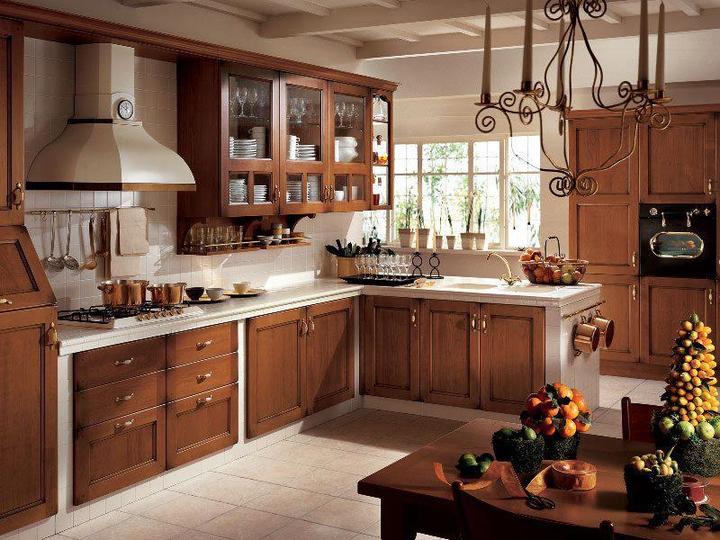 Drevo a biela v kuchyni - Obrázok č. 36