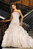 svadobné značkové šaty, 40
