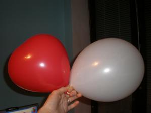 nase balony na parket