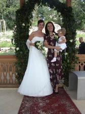 S mojí svědkyní Bárou a její Julinkou