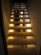 schody na půdu .... :))