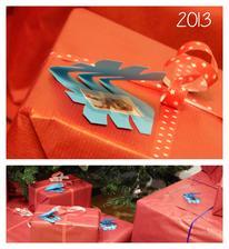 letos se mi moooc zalibily fotky jako jmenovky na dárečkách :) do budoucnosti to bude pro deti super, kdyz jeste neumí číst :)