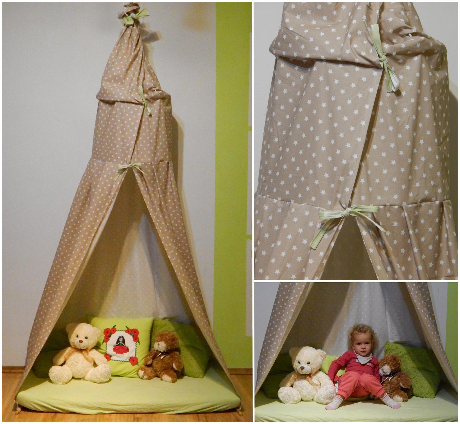 Obývací pokoj - Dětský koutek v obýváku
