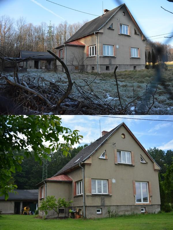 Náš nový domov ... - Trocha srovnání a bilancování, rozdíl necelé 4 měsíce