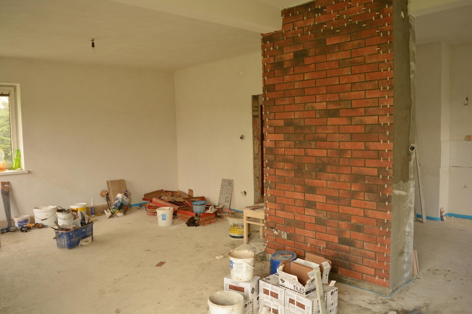 Náš nový domov ... - ááá komín už se rýsuje ... :)