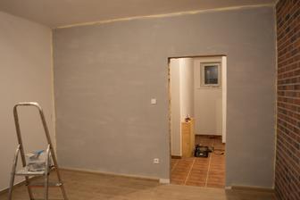 čerstvě natřeno ... miluju to!! Klidně bych dělala malíře pokojů ... ale bílou neberu :D
