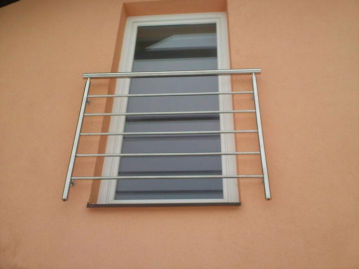 Inšpirácie - antikorové zábradlia - rancúzske okno