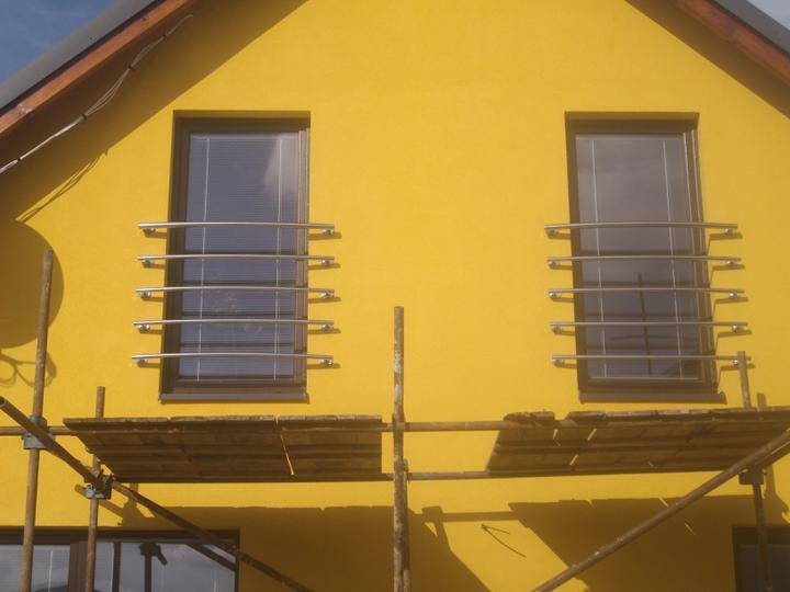 Inšpirácie - antikorové zábradlia - francúzske okná