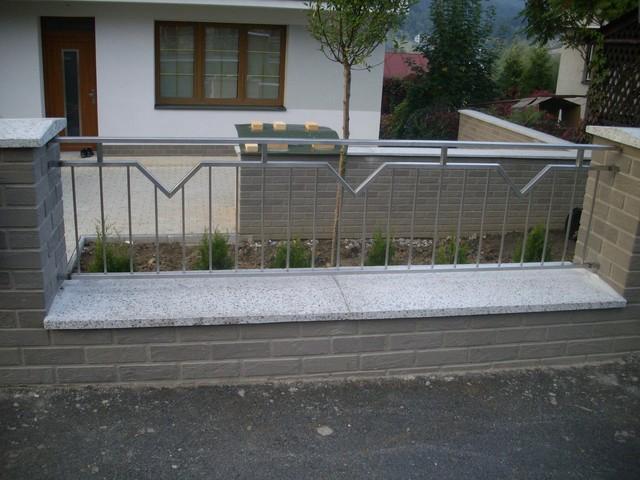 Inšpirácie - antikorové zábradlia - výplň plota