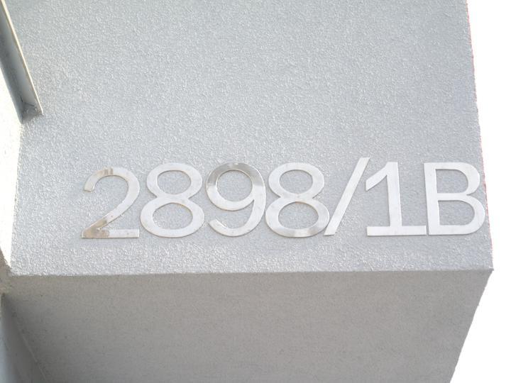 Inšpirácie - antikorové zábradlia - číslo domu - antikor