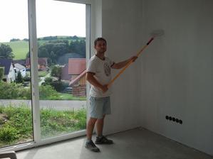 začali sme s maľovaním