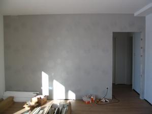 tapetka v obývačke