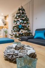 Prvý  vianočný stromček v novom:-)
