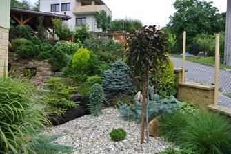 I na malé ploše může vzniknout krásná a různorodá zahrada - moje realizace před dvěma lety :-)