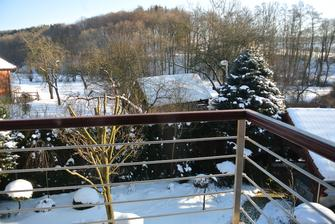 Zima u nás přes okno :-)
