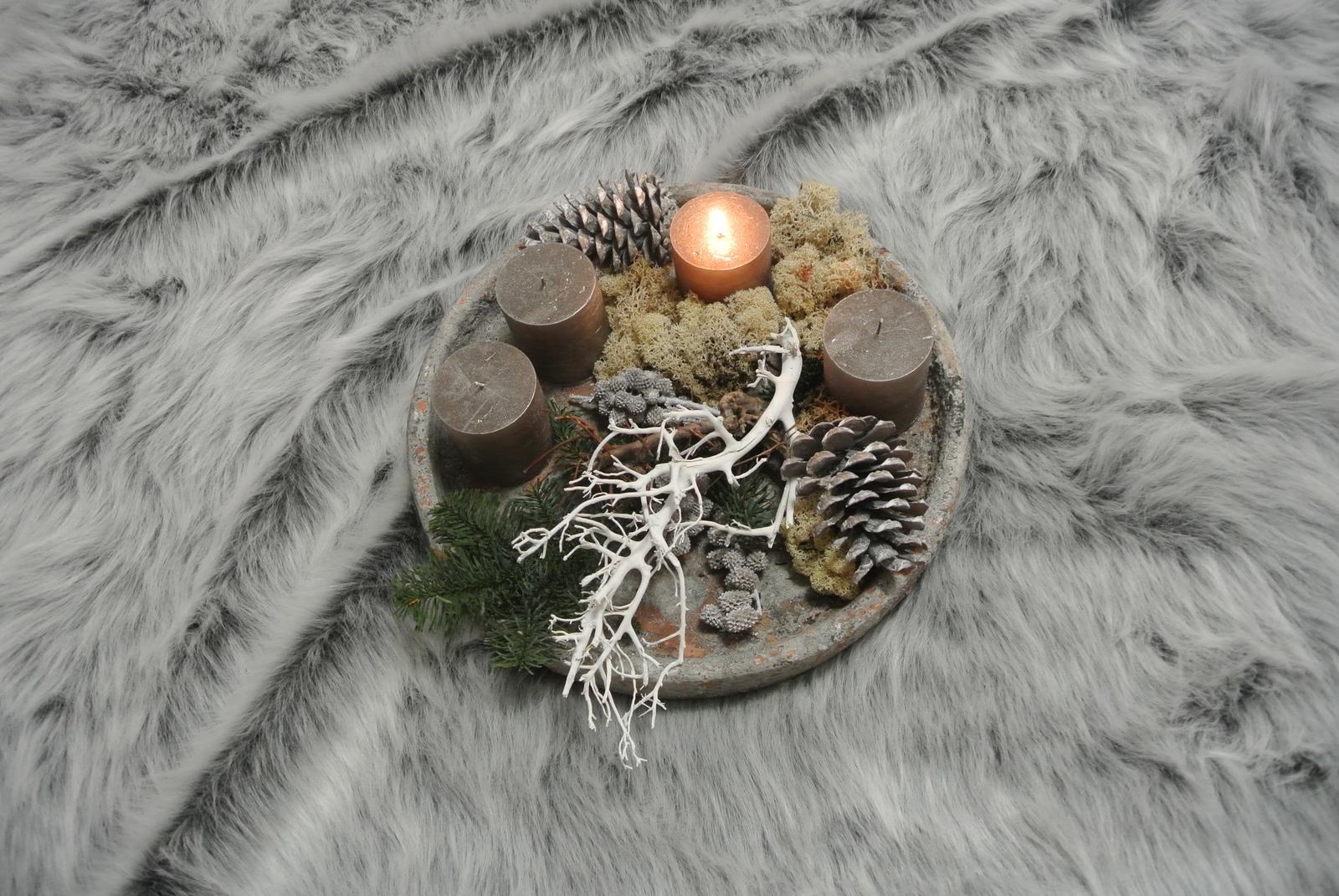 U nás a moje dekorace - Krásný advent od nás :-)