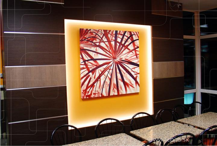 ledco - Návrh a realizácia LED osvetlenia Mc Donalds v Trnave