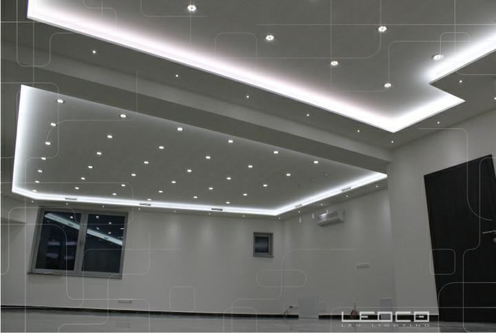 ledco - Návrh a realizácia LED osvetlenia administratívnej budvy v Nitre