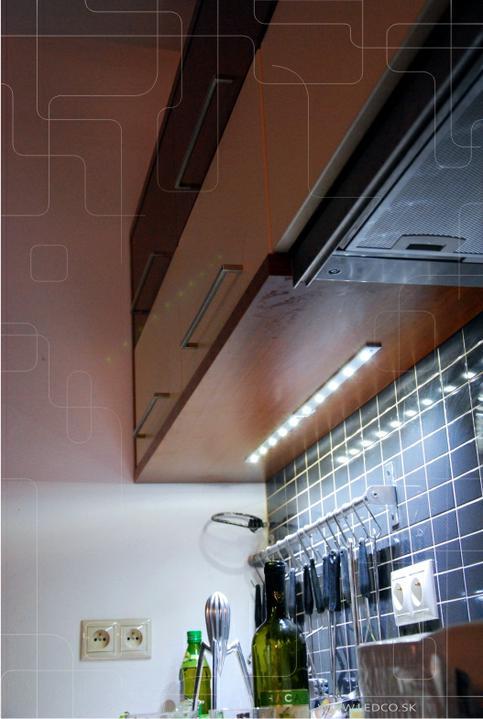 ledco - Osvetlenie kuchynskej linky s LED lištou