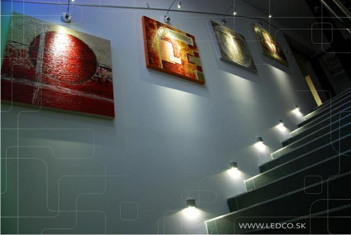 ledco - Návrh osvetlenia predajne Kanapy interiér v Trnave