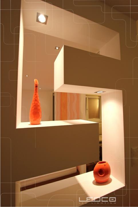 ledco - Návrh osvetlenia bytového priestoru s LED svietidlami.  www.ledco.sk