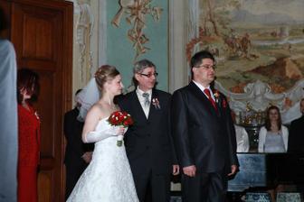 předání nevěsty tatínkem