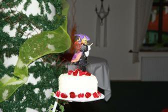 Detail zdobení dortu :-)