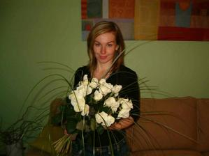 Zasnubni kytice ruzi, po ktere jsem vzdycky touzila