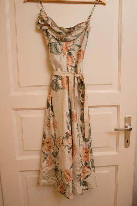 Krémové Šaty s květy Mango - Obrázek č. 1
