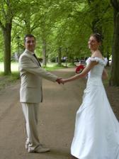 Již jako novomanželé...