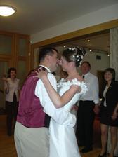 Náš první novomanželský tanec