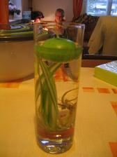 plovoucí svíčka na výzdobu stolu při obědě / floating candle to decorate the table