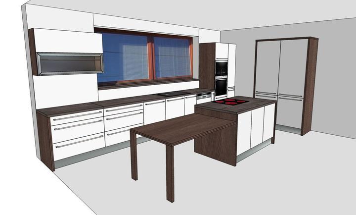 Kuchyna- poradte, ci je to ok, alebo by ste nieco zmenili...diky:) - novy navrh