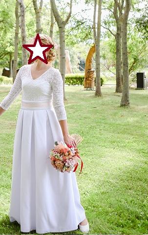 Jemne svadobne saty - Obrázok č. 1