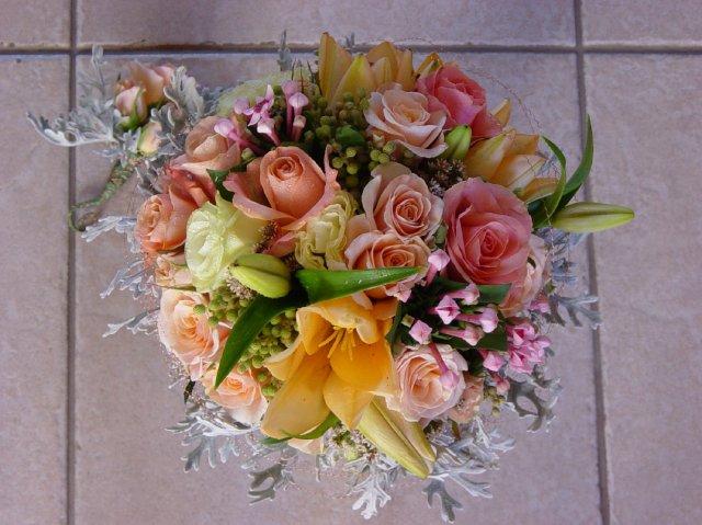 """Jana a Martin - Aj tuto robila """"moja kvetinarka"""":-))) uz sa tesim, co vytvori mne:-)"""