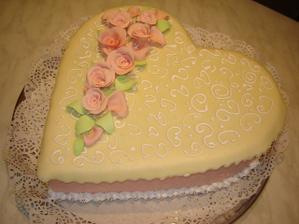 Sice nebola svadobna, ale narodeninova, ale mozno inspiruje...