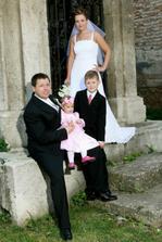 Naše krstniatka Natálka a Šimonko...