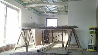 No a takhle jsme tvořili stropy