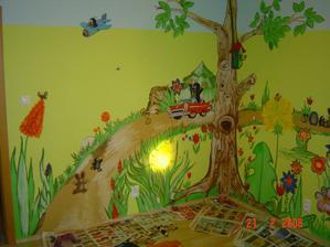 maľba na stenu