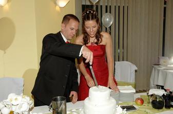 krajanie torty